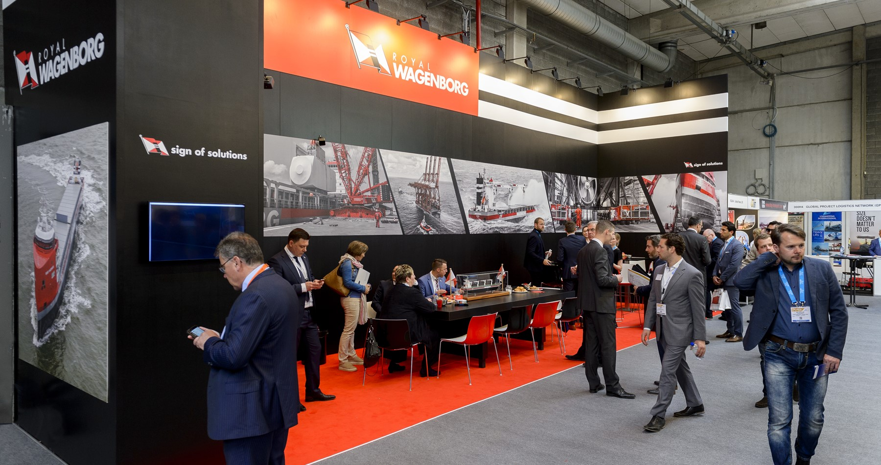 Visit us at the Breakbulk Europe exhibition 2019