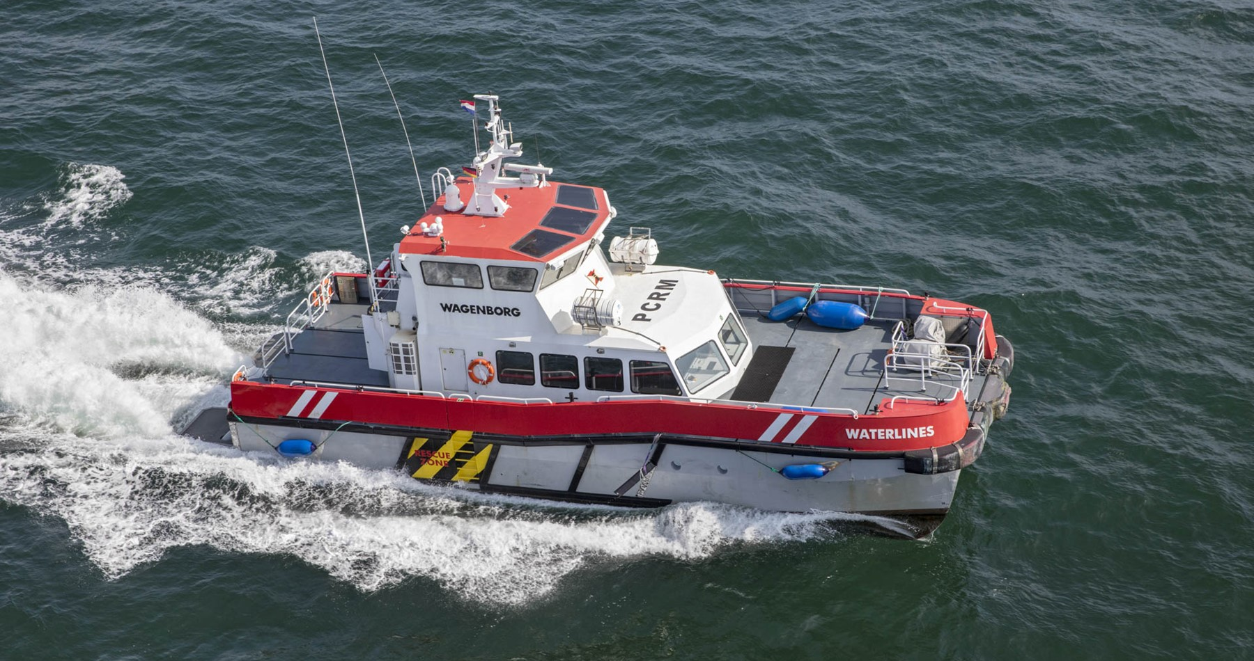 Crew transfer vessel 'Waterlines' gets second life within Wagenborg