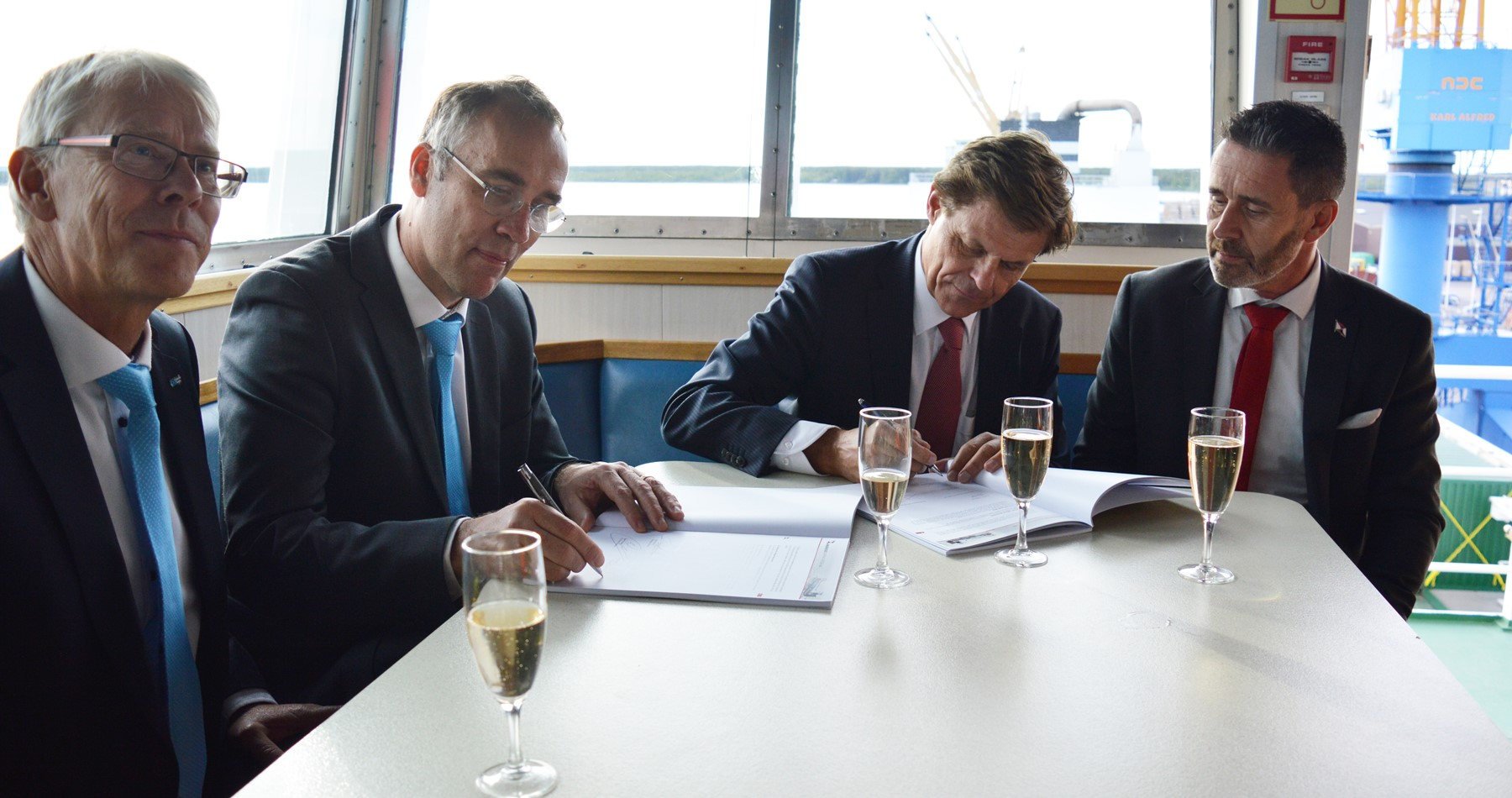 Smurfit Kappa Piteå and Wagenborg Shipping signed new long term contract