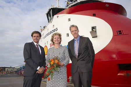 Wagenborg's half century partnership with NAM and Shell