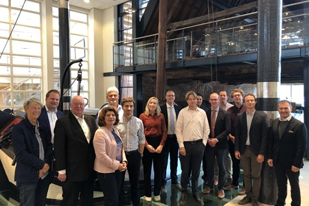 Royal Association of Netherlands Shipowners visits Wagenborg during Sustainable tour