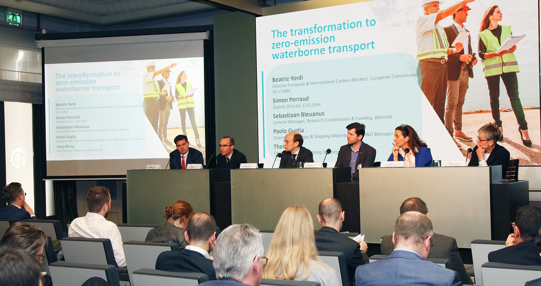 Wagenborg joins panel at Waterborne transport conference in Brussels about zero emission shipping