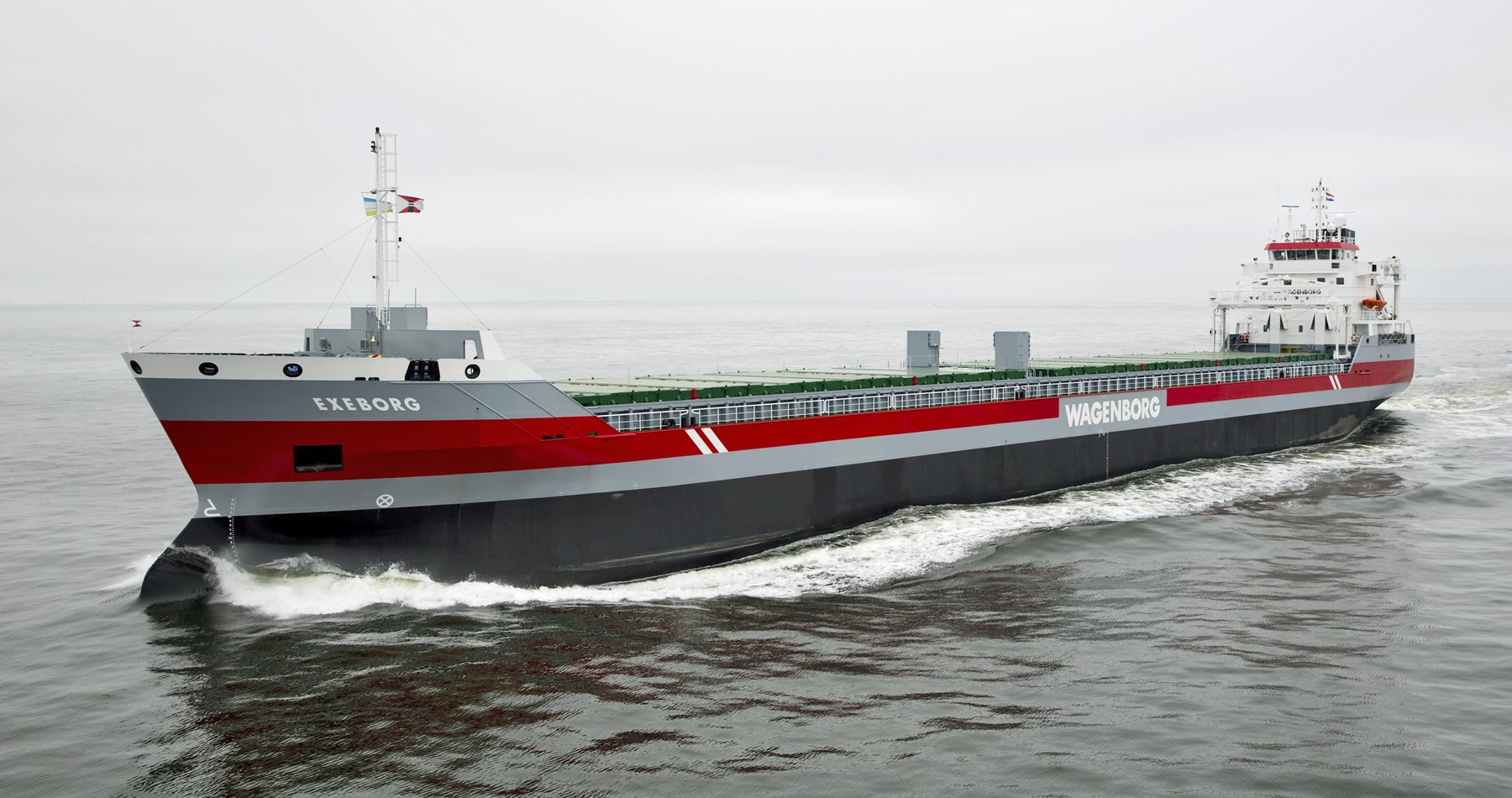 Exeborg welcomed as first ocean going vessel of 2020 in the port of Montreal