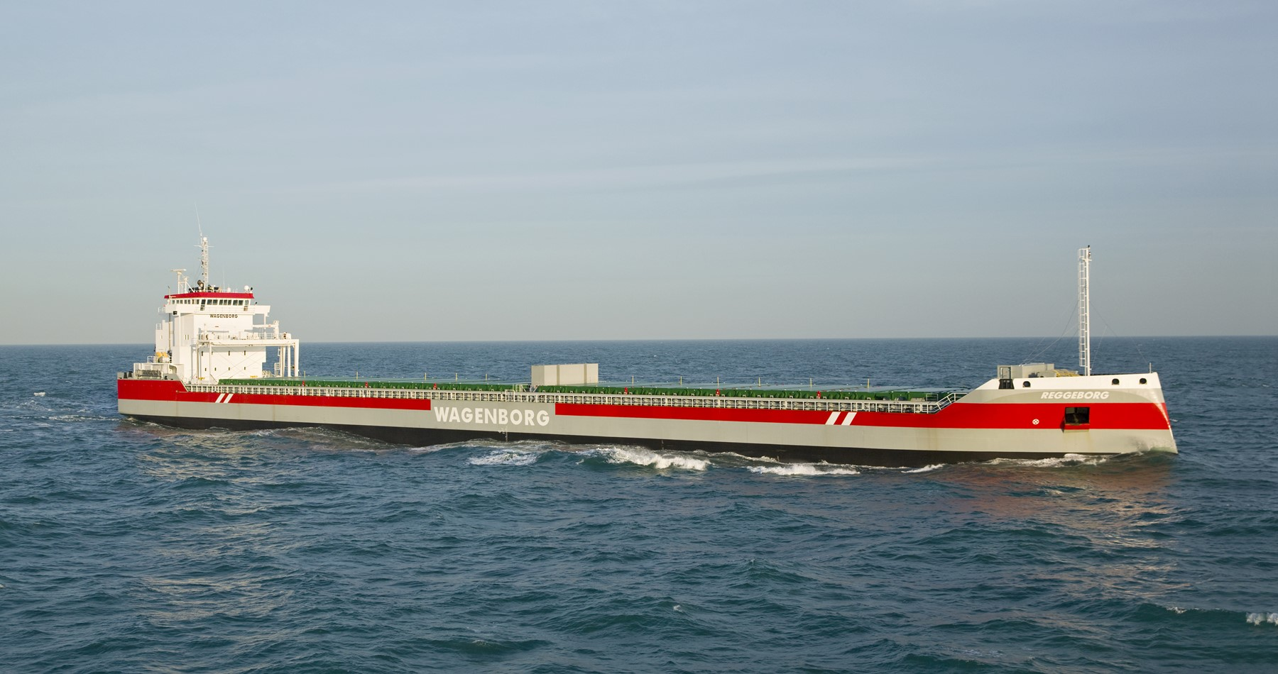Reggeborg first ship with ballast water treatment system
