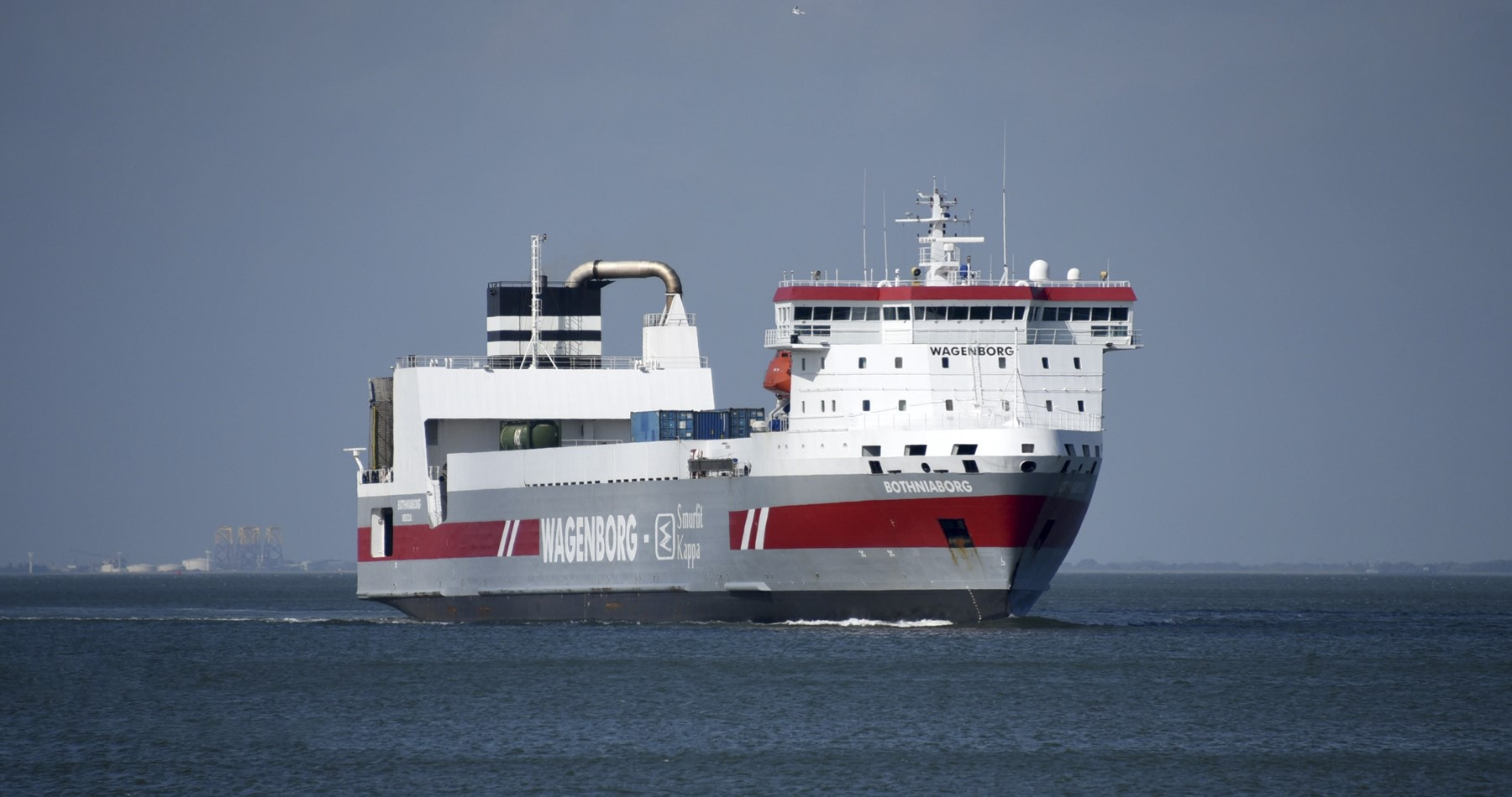 Wagenborg strengthens her position in the greater Stockholm area with expanded RORO liner service