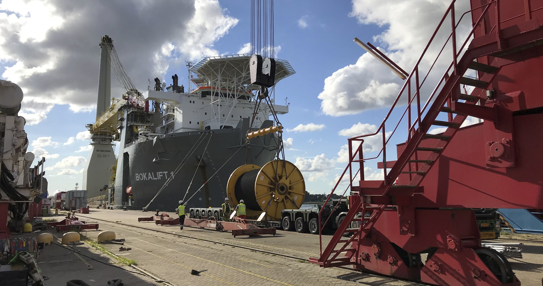 MV Cito ships project cargo to Denmark