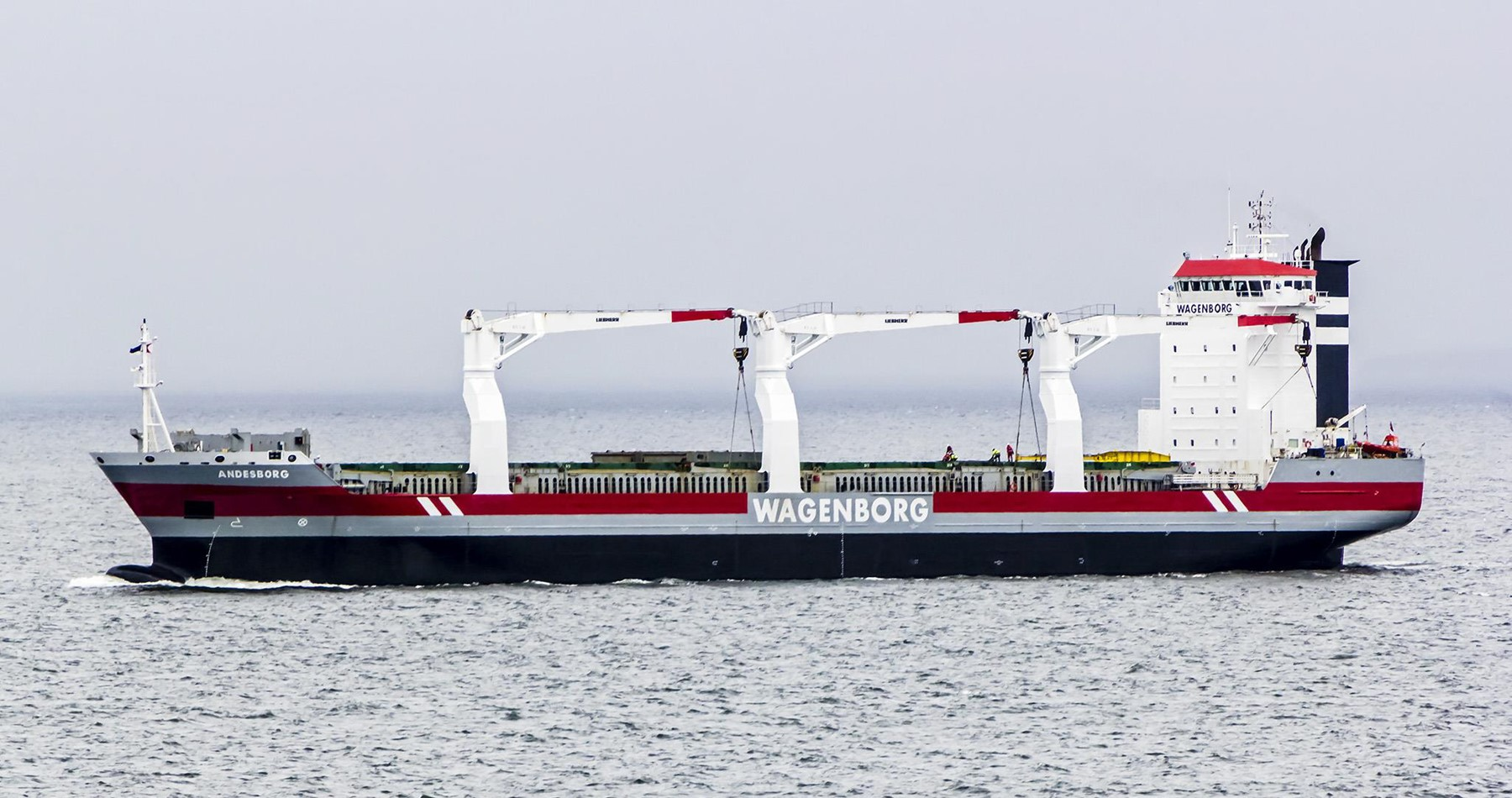 Time charter contract MV Andesborg for direct service between NW Europe and East Africa