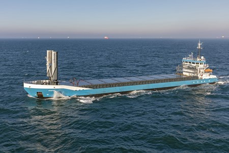 Econowind lends a ship wings