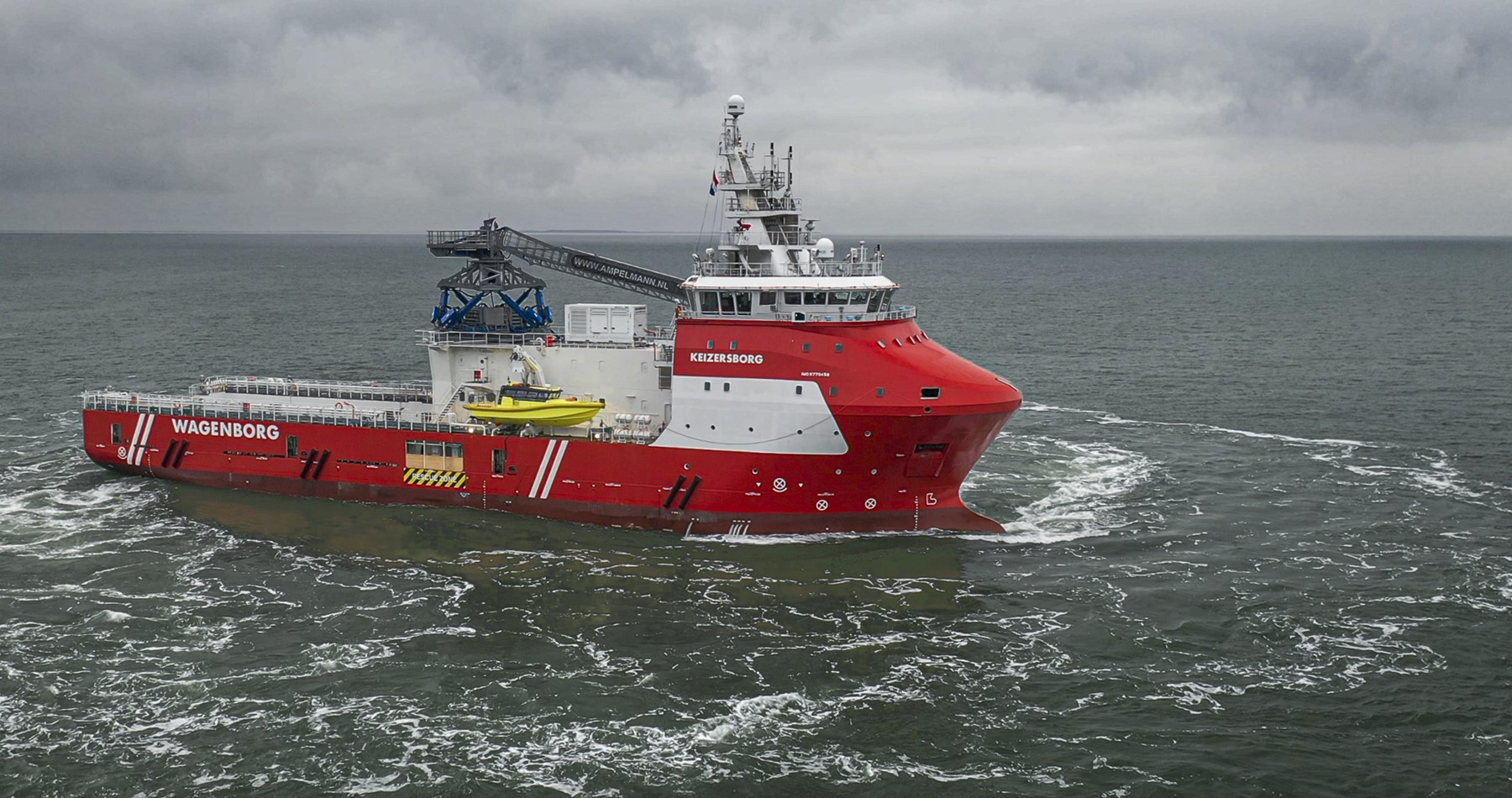 Third 'walk-to-work' vessel into service as 'Keizersborg'